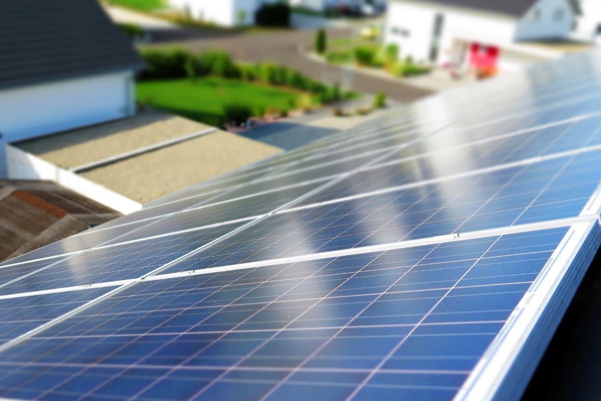 panneaux solaires veranda