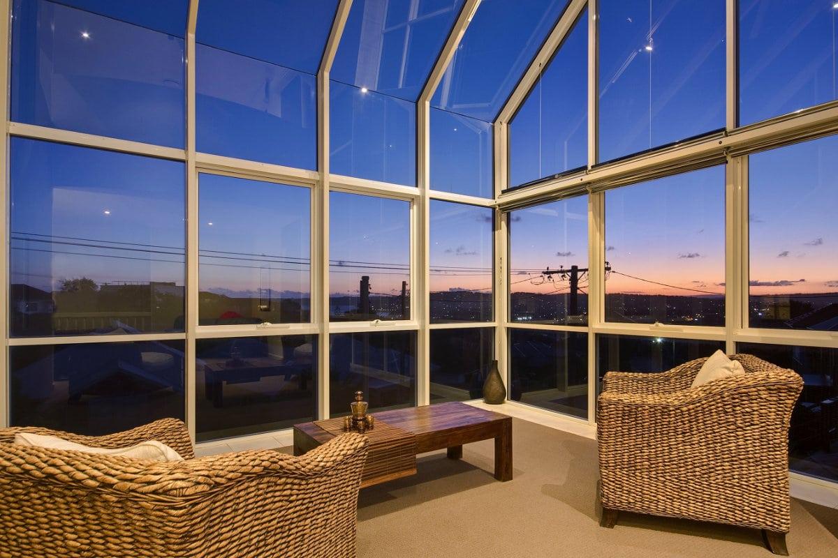 toiture veranda verre